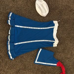 Women's sailor costume